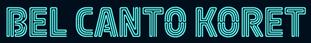 Bel Canto Koret Logo